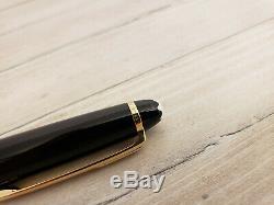 MONTBLANC Meisterstuck Gold Trim Classique 163 Rollerball Pen, EXCELLENT