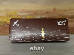 MONTBLANC Meisterstuck Le Petit Prince and Aviator Midsize Brown Ballpoint Pen