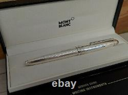 MONTBLANC Meisterstuck LeGrand (146 size) Pure Silver Fountain Pen