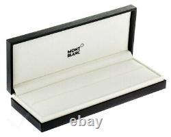MONTBLANC Meisterstuck LeGrand Black 146 Extra Fine Fountain Pen 13659