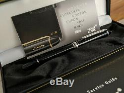 MONTBLANC Meisterstuck Platinum Line Classique 163 Rollerball Pen, NOS