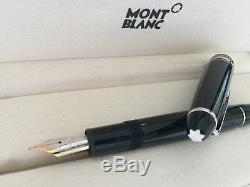 MONTBLANC Meisterstuck Platinum Line LeGrand Fountain Pen 100% AUTHENTIC