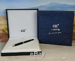 MONTBLANC Meisterstuck Platinum UNICEF Signature for Good 163 Rollerball Pen