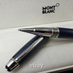 MONTBLANC Meisterstuck Solitaire Blue Hour Legrand Rollerball Pen Excellent