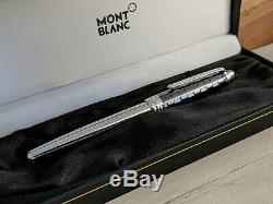 MONTBLANC Meisterstuck Solitaire Ceramic Prisma Rollerball Pen