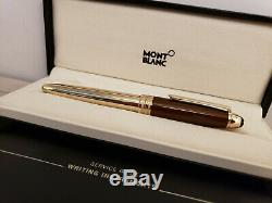 MONTBLANC Meisterstuck Solitaire Citrine Gold LeGrand 146 Size Fountain Pen