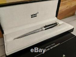 MONTBLANC Meisterstuck Solitaire Classique 164 Carbon Steel Ballpoint Pen