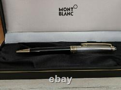 MONTBLANC Meisterstuck Solitaire Doue Sterling Silver 925 Ballpoint Pen