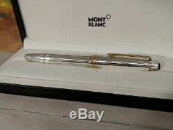 MONTBLANC Meisterstuck Solitaire Sterling Silver 925 146 Fountain Pen