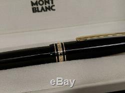 MONTBLANC Meisterstuck Traveler 147 Fountain Pen, 14K Gold Nib