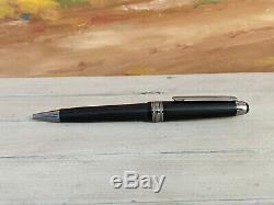 MONTBLANC Meisterstuck Ultra Black Midsize Ballpoint Pen