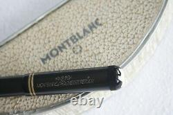 MONTBLANC No. 35 Meisterstuck PUSH KNOB 1930's B Nib Fountain Pen BOX, NEAR MINT