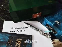 MONTBLANC PETER I PATRON ART F. PEN SOLID GOLD 18kt LIMITED EDITION 888 NEW