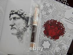 MONTBLANC Patron Of Art Homage to Hadrian Limited Edition 888 Fountain Pen M