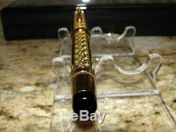 MONTBLANC Patron of Art Louis XIV LE #2491/4810 Solid Vermeil Gold Fountain Pen