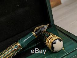MONTBLANC Patron of Art Peter The Great 4810 Limited Edition Fountain Pen