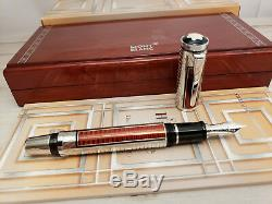 MONTBLANC Patron of Art Sir Henry Tate Limited Edition 4810 Fountain Pen, MINT