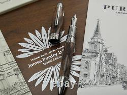 MONTBLANC SEALED Meisterstück Great Masters James Purdey & Sons Fountain Pen M