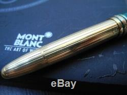 MONTBLANC SOLITAIRE LEGRAND 146 CZAR Nikolai I TSAR GOLD AG925 FOUNTAIN PEN MINT