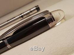 MONTBLANC StarWalker Black Midnight Rollerball / Fineliner Pen NEW in BOX
