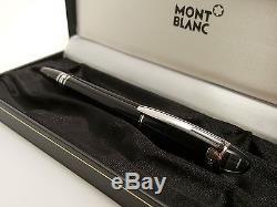 MONTBLANC StarWalker Black Platinum Series Rollerball / Fineliner Pen, NEAR MINT