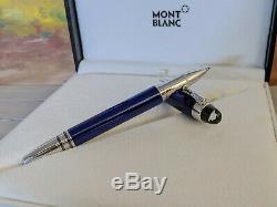 MONTBLANC StarWalker Cool Blue Lacquer Platinum Trim Rollerball / Fineliner Pen