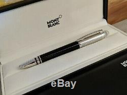 MONTBLANC StarWalker Doue Gilloche 14K Nib Fountain Pen, MINT