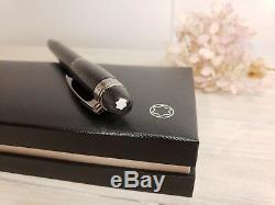 MONTBLANC StarWalker Midnight Black Rollerball Fineliner Pen NEW