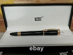 MONTBLANC StarWalker Red Gold Resin Fineliner / Rollerball Pen, EXCELLENT