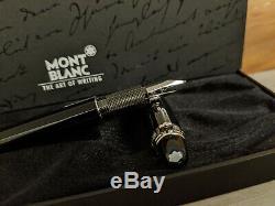 MONTBLANC Starwalker Platinum Line M 14K Nib Fountain Pen
