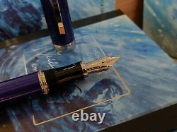 MONTBLANC Writers Limited Edition Jules Verne Fountain Pen, MINT