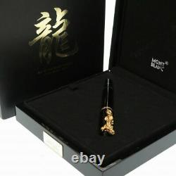 MONTBLANC YEAR OF THE GOLDEN Dragon Limited Edition 2000 New