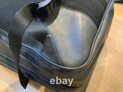Mens mont blanc rucksack sartorial large black very good condition used multi po