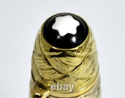Mont Blanc 149 Customized 18Kt/750 Solid Gold Fountain Pen Jewelry Overlay