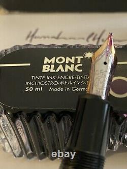 Mont Blanc 4810 14K Nib Black Meisterstueck Le Grand 146 Fountain Pen 50ml Ink