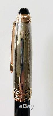 Mont Blanc 75th Anniversary Rose Gold Solitaire Doue 146 Le Grand Fountain Pen