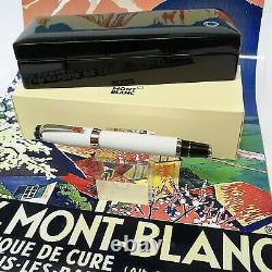 Mont Blanc Boheme Platinum Rollerball Pen & Montblanc Presentation Box
