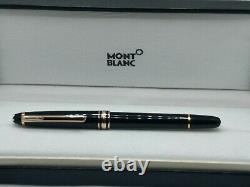 Mont Blanc Gold Meisterstuck Rollerball Pen New in Box Genuine