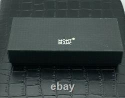 Mont Blanc La Vie De Boheme 2 Pen Pouch With Zip Black /Blue