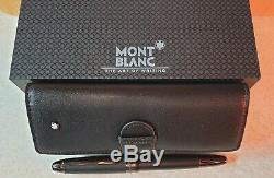 Mont Blanc Matte Black Meisterstuck Rollerball