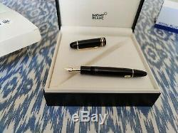 Mont Blanc Meisterstuck 149 fountain pen, with box and service guide