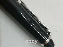 Mont Blanc Meisterstuck Ballpoint Pen Silver Trim New in Box Genuine