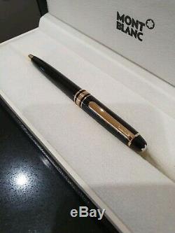 Mont Blanc Meisterstuck Ballpoint Pix Pen Black/Gold