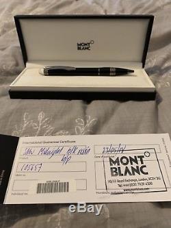 Mont Blanc StarWalker Black Ballpoint Pen