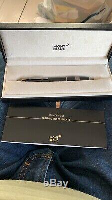 Mont Blanc StarWalker Black Resin Ballpoint Pen
