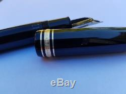 Mont blanc meisterstuck 149 fountain pen 18 ct early 1990s