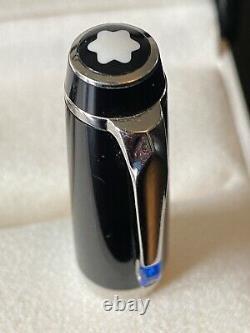 MontBlanc Boheme Bleu Platinum Rollerball Pen