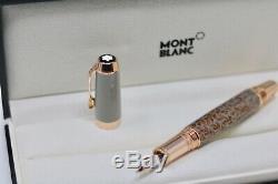 MontBlanc Boheme Moongarden Fountain Pen Rose Cognac Gold Stone Sold Out