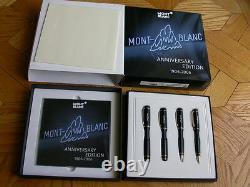 Montblanc 100 Anniversary Edition 4 Pc Set 1000 Sets