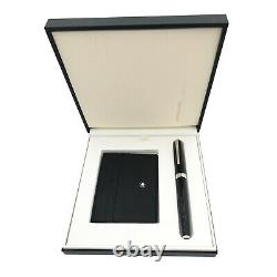 Montblanc 117088 Set with PIX Black Rollerball and Meisterstuck 6CC Card Wallet